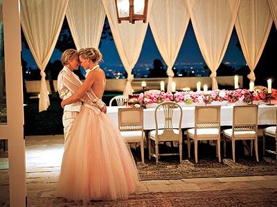 Nozze gay tra Ellen Degeneres e Portia de Rossi