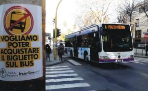 biglietto sul bus