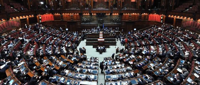 Discorso di letta alla camera e fiducia al governo for Camera dei deputati diretta streaming