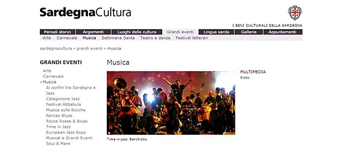 La Sardegna e i contributi regionali ai festival