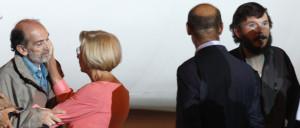 Domenico Quirico insieme al ministro Emma Bonino