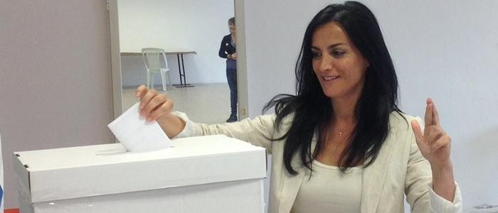 Francesca Barracciu candidata alla Presidenza della Sardegna