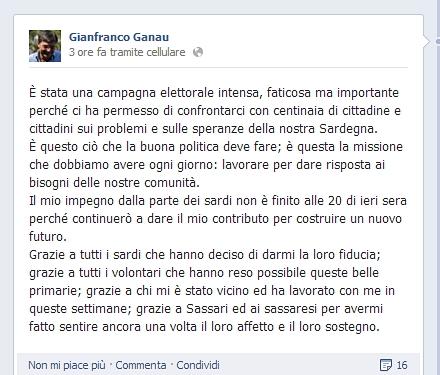 Francesca Barracciu vince le primarie del PD