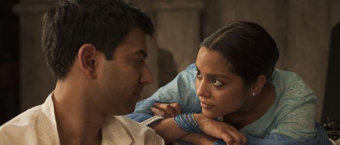 Scena del film I figli della mezzanotte di Deepa Mehta