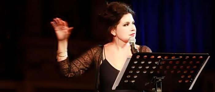 Licia Maglietta a La Notte dei Poeti di Nora