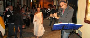 Il maestro Mauro Uselli in concerto