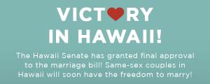 Le Hawaii legalizzano il matrimonio gay