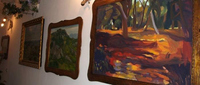 Mostra di pittura all'Atelier Gurusele di Sassari