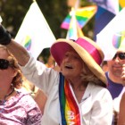 Edith Windsor al Pride di New York