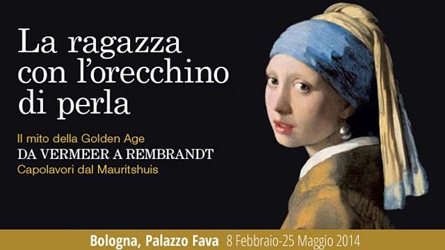 Mostre in Romagna: La ragazza con l'orecchino di perla a Bologna