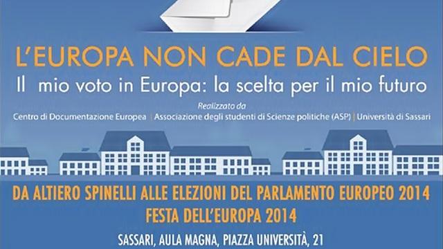Festa dell'Europa: dibattito con Luigi Berlinguer all'Università di Sassari