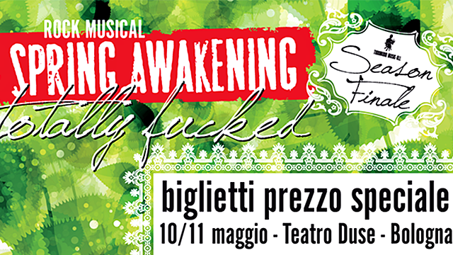 A Bologna il musical Spring Awakening