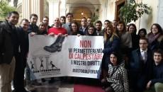 Il Forum Studentesco all'inaugurazione dell'anno accademico dell'Università di Sassari