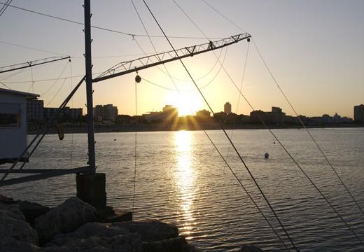 Foto Milano Marittima al tramonto