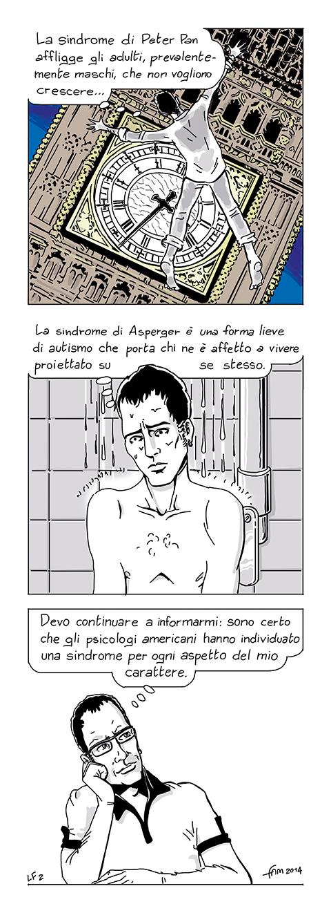 Sindromi, fumetto di Fam