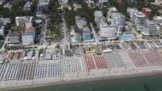 Spiaggia e mare di Milano Marittima