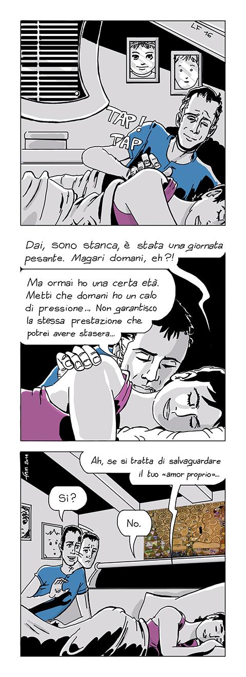 Coccole, fumetto di Fam