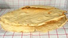 Pane carasau prodotto con lievito madre