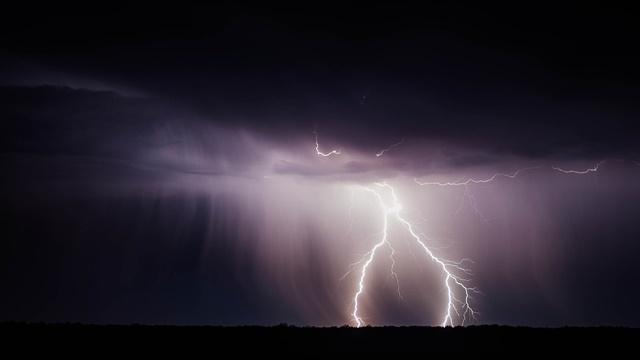 Fulmini in Sardegna