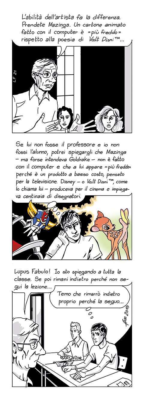 Valt Disni, fumetto di Fam
