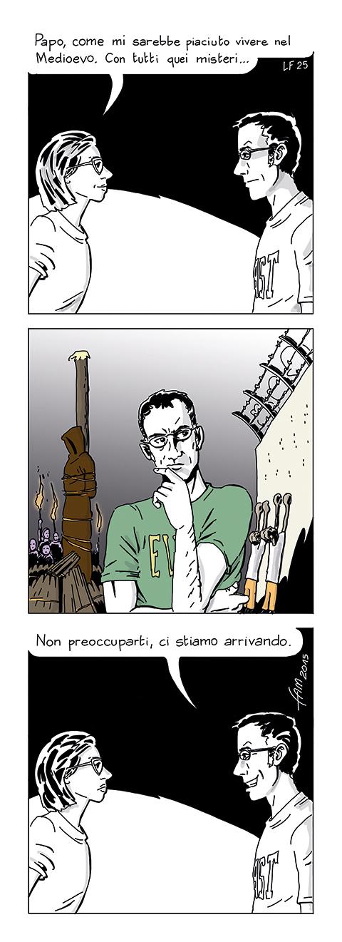 Medioevo prossimo venturo, fumetto di Fam