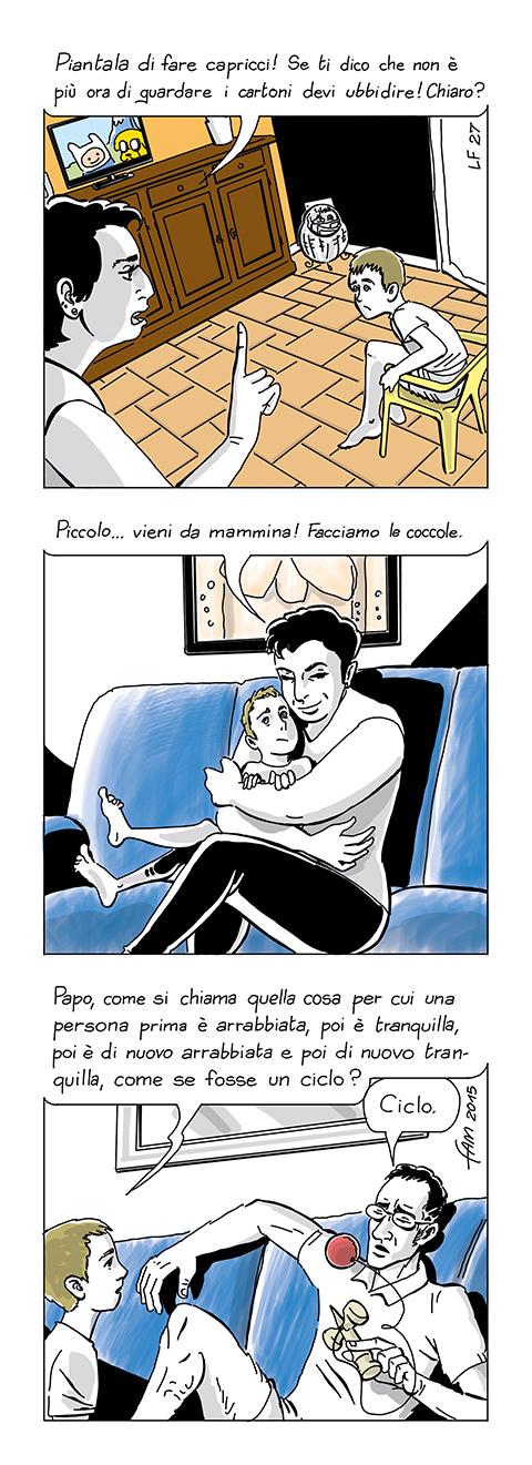 La risposta è dentro di te, fumetto di Fam