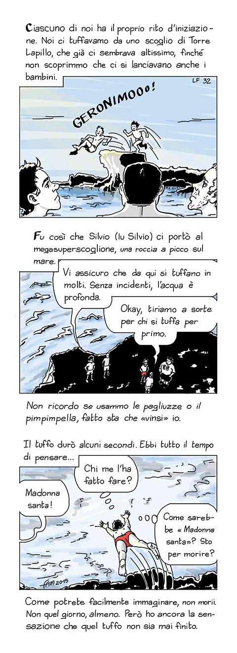 Iniziazione, fumetto di Fam