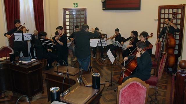 Liceo musicale Azuni concerto a Palazzo Ducale