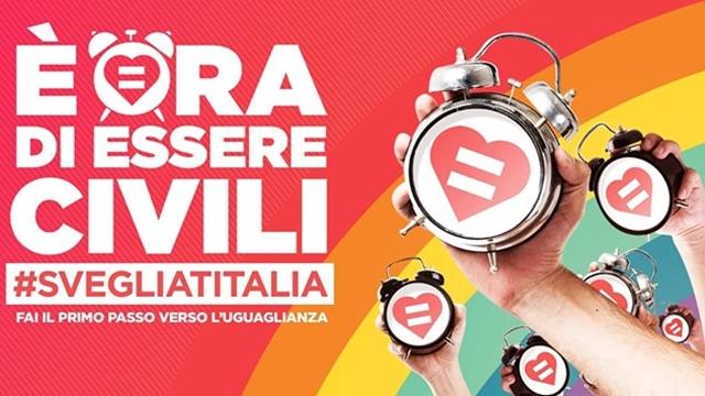 #svegliatitalia: per i diritti e l'uguaglianza
