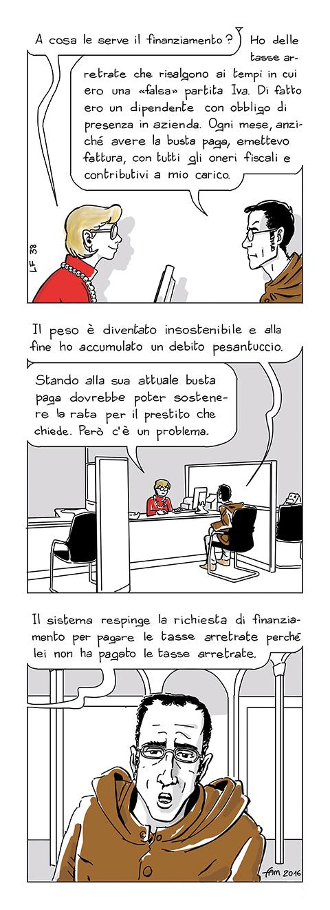 Il sistema, fumetto di Fam