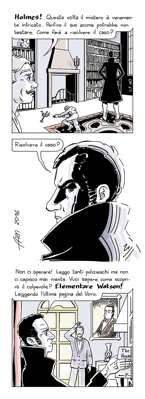 Lupus Holmes, fumetto di Fam