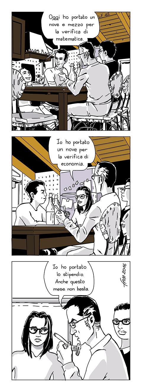 Da ciascuno secondo le proprie possibilità, fumetto di Fam