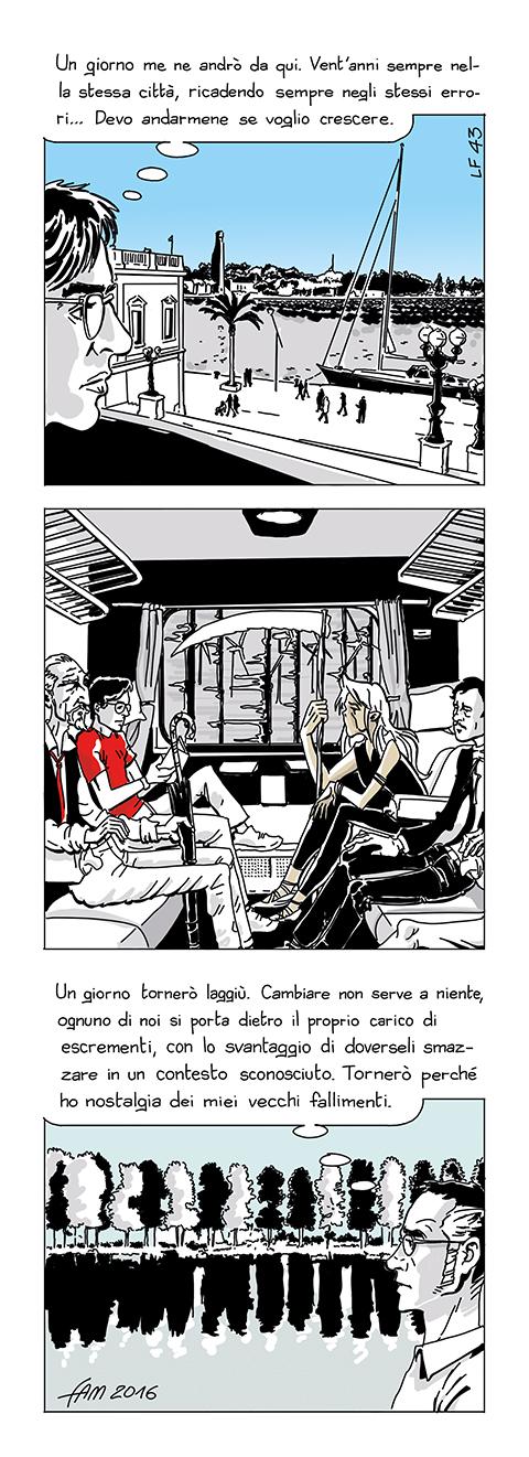 Il viaggio, fumetto di Fam