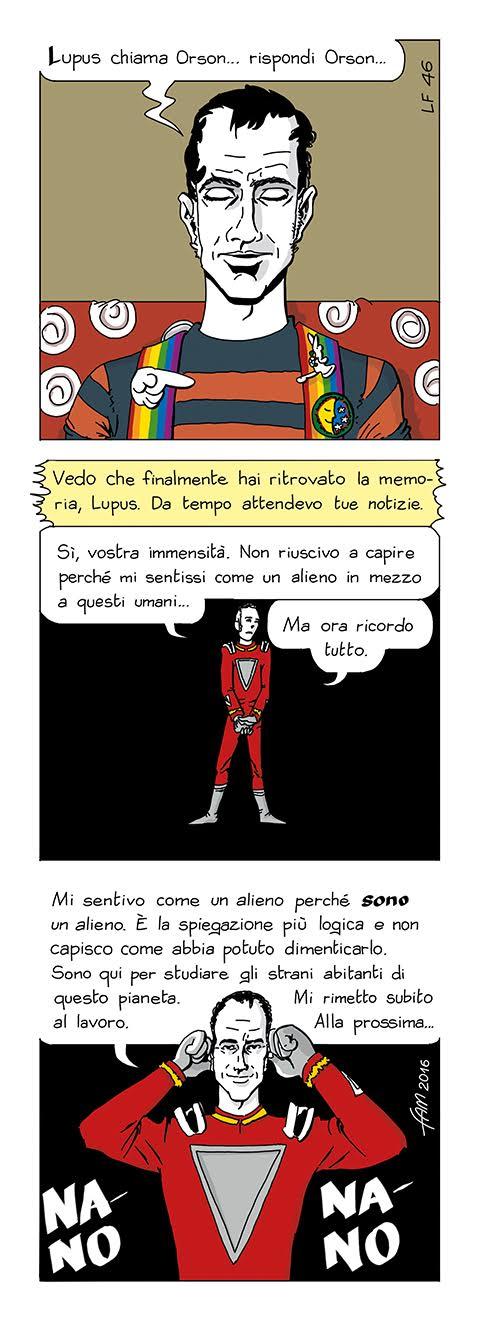 Lupus Fabulo, fumetto di Fam