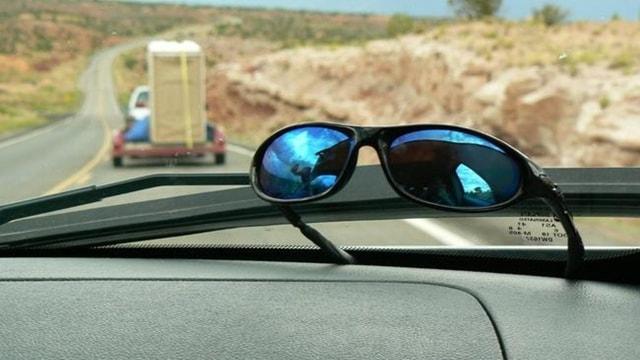 Rovinare gli occhiali da sole