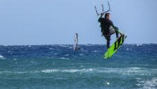 Kitesurf e windsurf a Punta Pellaro
