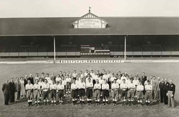 Foto storica Tottenham 1951