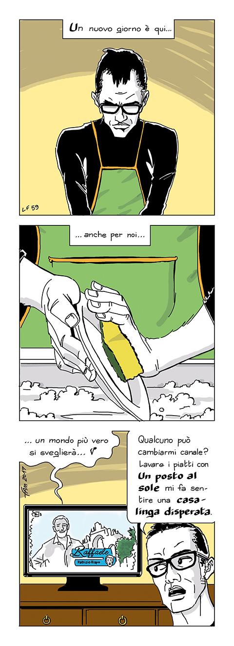 Se questo Lupus siamo noi, fumetto di Fam