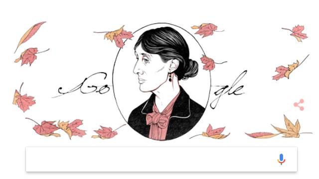 Virginia Woolf doodle